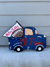 Ole Miss Truck Door Hanger