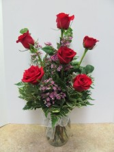 ON  SALE !!!!!!   Just  39.95 Classic Half Dozen Roses 6R