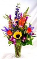 On The Brightside Vase Arrangement