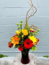 On the Manly Side  Floral Arrangement