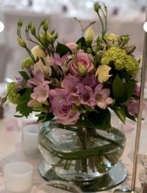 On the mend Vase arrangement