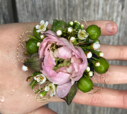 Once in a Lifetime Ring Corsage