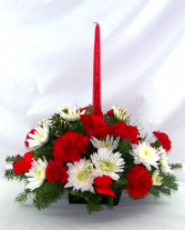 One Candle Centerpiece