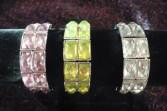 One Crystal Bracelet Wristlet Corsage