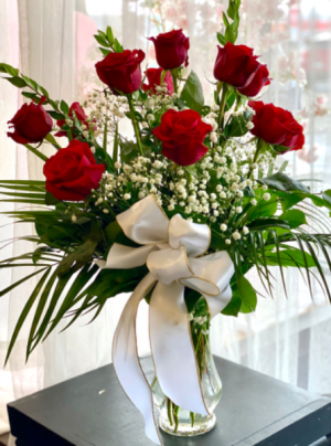 One Dozen Red roses  in Youngstown, OH   BLOOMING CRAZY FLOWERS AND GIFTS