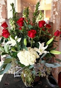 One Doz Deluxe Roses