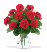 Our Beautious Carnation Vase of Love! Carnation color based on availablity