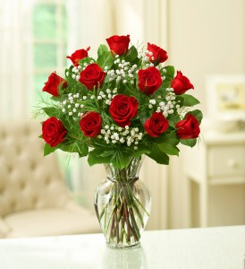 One Dozen Classic Roses * Due to High Volume Rose Colors will Vary*One Dozen Roses in Clearwater, FL | FLOWERAMA