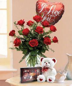 One Dozen Combo Valentine's  in Alvarado, TX | DARRELL WHITSEL FLORIST & GREENHOUSE