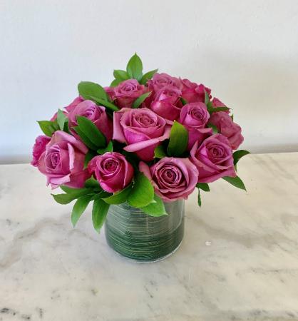 Two Dozen Lavender Roses
