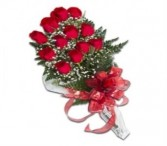 PRESENTATION  BOUQUET  One Dozen Long Stem Red Roses