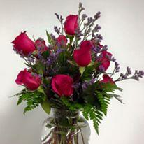 One Dozen Pink Floyd Roses
