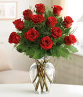 One Dozen Beautiful Red Roses! Roses