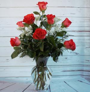One Dozen Premiun Long Stem Orange Roses  in Culpeper, VA | ENDLESS CREATIONS FLOWERS AND GIFTS