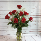 One Dozen Premiun Long Stem Red Roses