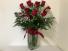 One Dozen Red Roses Valentine Flowers