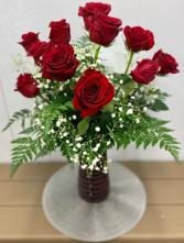 One Dozen Roses 2021 Vase