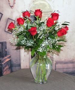 One Dz Radiant Red Roses  in Stevensville, MT | WildWind Floral Design Studio