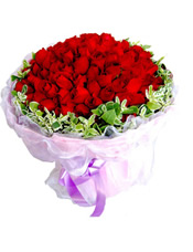 99/st Roses (one life one love) Rose Bouquet