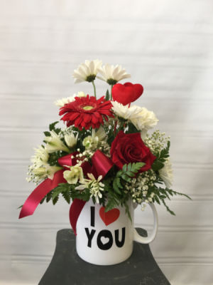 One of a kind Love Fresh arrangement in Joliet, IL | LABO'S FLOWERS & GIFTS
