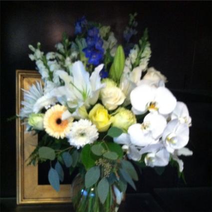 Send The Season's  Best  Vase Arrangement