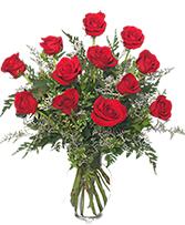 Ooh La La Deluxe Dozen Roses