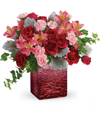 Ooh La Ombre All-Around Floral arrangement