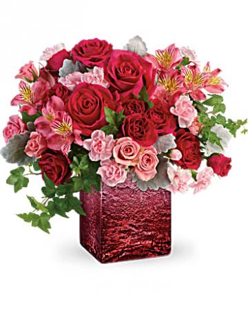 Ooh La Ombre Bouquet cube