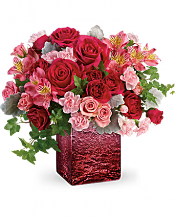 Ooh La Ombre Fresh Floral Arrangement