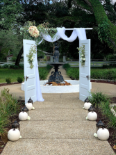 Open Door Arch Wedding