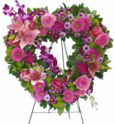 Open heart of love.  Always in your heart