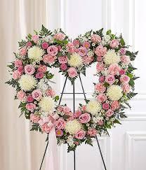 Open Heart Wreath Sympathy