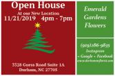 Open House Annoucement