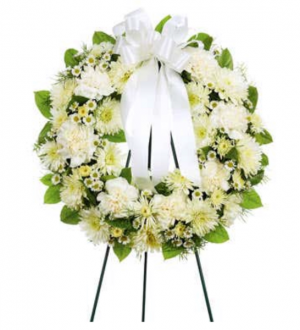 Open Wreath Standing Spray  in Saint Cloud, FL | Bella Rosa Florist
