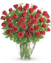 Opulence - 36 Roses  Arrangement