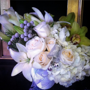 Opulent Holiday Arrangement  in Redding, CT | Flowers and Floral Art