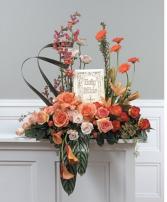 Orange and Peach Cremation