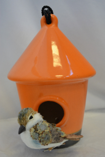 ORANGE BIRD HOUSE GIFT