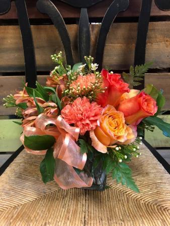 Orange Bliss Floral Arrangment