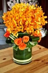 Orange Crush Arrangement