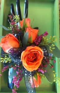 Orange Crush Corsage Corsage in West Point, UT | 4 SISTERS FLORAL & HOME DECOR