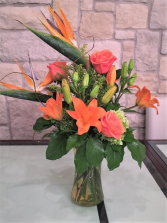 ORANGE CRUSH CUSTOM ARRANGEMENT