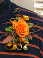 Awesome Autumn Boutonniere
