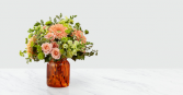 ORANGE CRUSH Vase arrangement