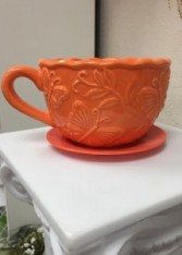 Orange Cup & Saucer Gift item