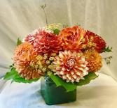 Orange Dandy Dahlia Fresh Floral Design