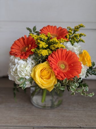 Orange delight Fresh Arrangement