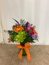 Orange Delight Mixed vase