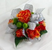 ORANGE DELIGHT  PROM CORSAGE