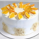 Orange Dream Cake Sweet Blossoms